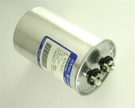 ge capacitor z97f3251 ge capacitor 50uf 370v application motor run 2020005594