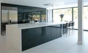 Kitchen appliances cabinet modern replacement doors high gloss black