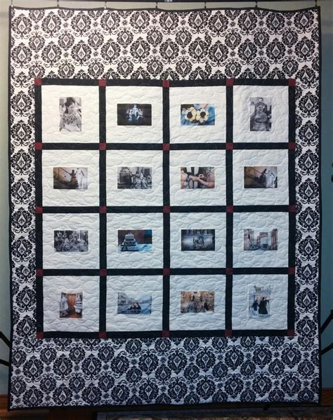custom memory quilts wedding guest book quilts