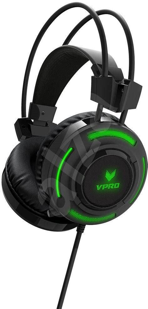 Rapoo Vpro Gaming Headset Vh200 Hitam Rapoo Vpro Vh200 Rgb Gaming Schwarz Headset Alza De