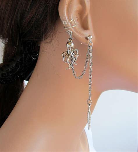 cool cartilage earrings aelida