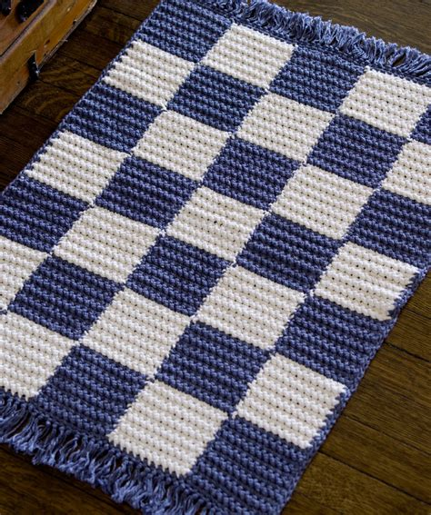 rug patterns crochet checkerboard rug crochet pattern