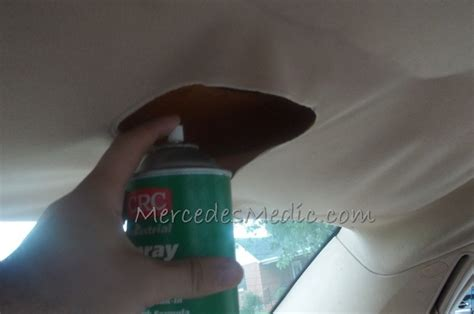 How To Fix A Car Interiors Falling Ceiling by Headliner Material Falling How To Fix Pictures