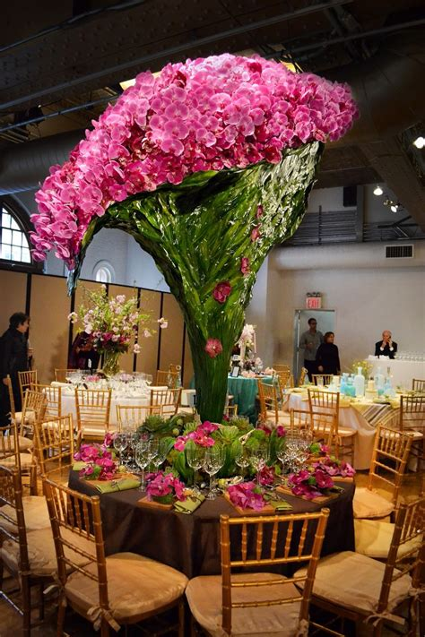 Flower Design New York | orchids cascading from more than 7 feet high quot best show