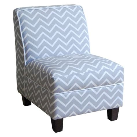 Grey Chevron Chair by Upholstered Slipper Chair Gray Chevron Target