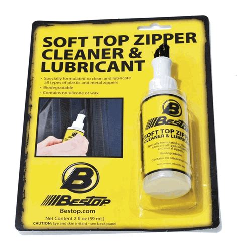 Jeep Soft Top Cleaner All Things Jeep Bestop Jeep Soft Top Zipper Cleaner