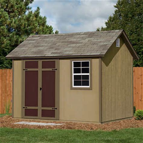 10 X 8 Wooden Shed by Brton 10 Ft X 8 Ft Wood Storage Shed