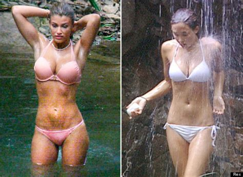 who does lucy davis look like i m a celebrity amy willerton has her myleene moment
