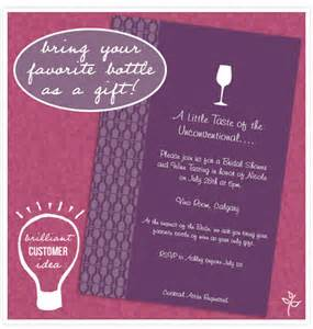 wine wedding shower invitation wording brilliant customer idea wine tasting shower invitation
