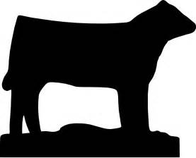 Show Heifer Outline by Hydrojet Signs Fabricating Clip