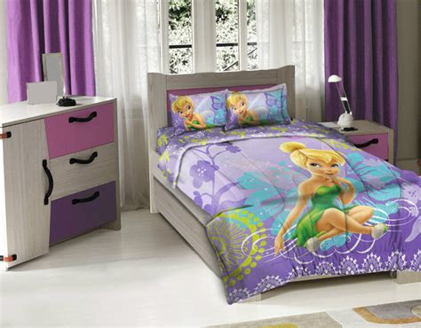 tinkerbell bedroom set disney tinkerbell fairy wonder licensed 3pcs twin bedding