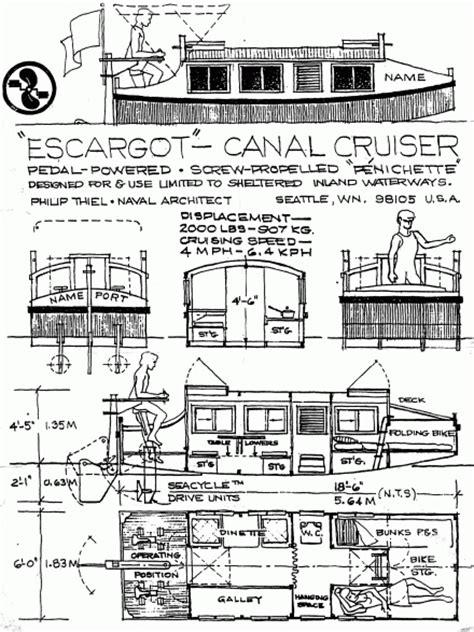 escargot boat plans gr 252 ne flotte home charterboote im revier