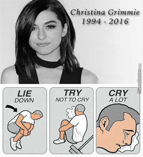 Christina Meme - r i p christina grimmie by buggy d great meme center