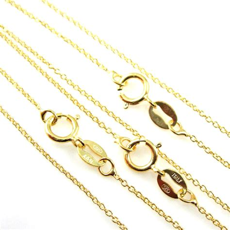 Chain Anklet 22k gold plated sterling silver necklace vermeil