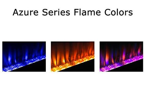 azure 50 electric fireplace napoleon efl50h linear wall mount electric fireplace 50 inch