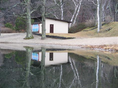 ashfield lake house ashfield ma beach house reflected on ashfield lake photo picture image