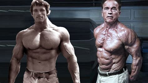 a look at just how well arnold schwarzenegger has aged arnold schwarzenegger then now