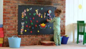 magnetic board for room playroom design diy playroom with rock wall