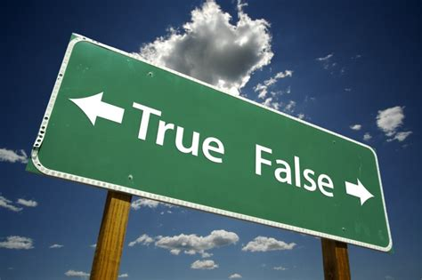True or false christinarussell