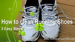 How to clean running shoes 5 easy steps youtube