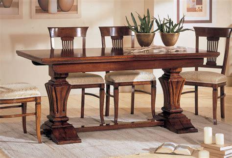 tavoli fratini allungabili tavolo allungabile al centro in noce nazionale 2827