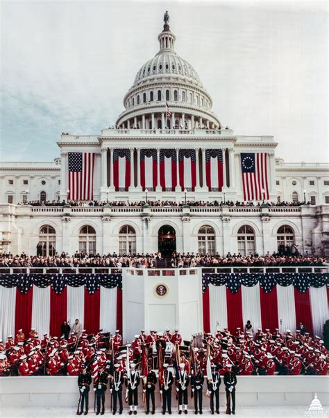picture of inauguration inauguration at the u s capitol architect of the
