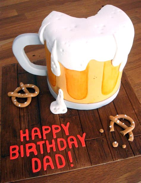 beer cake beer mug cakes decoration ideas little birthday cakes