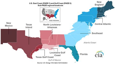 map of gulf coast states for transportation fuels the gulf coast produces the
