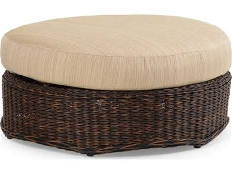 round cushion ottoman palm springs rattan 4300 series round ottoman w cushion