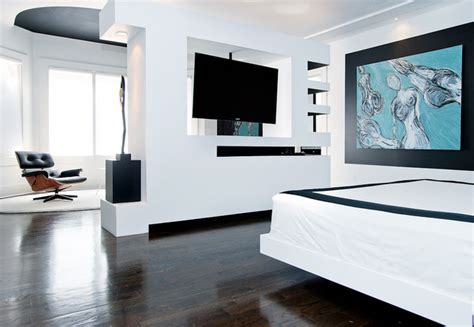 Tv Room Divider Modern Master Bedroom Media Unit Room Divider Modern Bedroom Nashville By Atmosphere