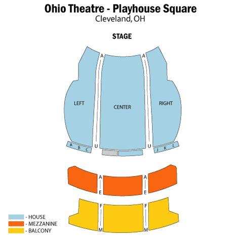 playhouse square seating les ballets trockadero de monte carlo january 29 tickets