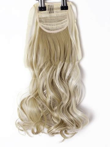 Hair Ponytails Wavy synthetic curly hair ponytails wavy clip in hairpieces