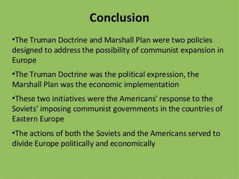 Marshall Plan Essay by Truman Doctrine Marshall Plan Essay
