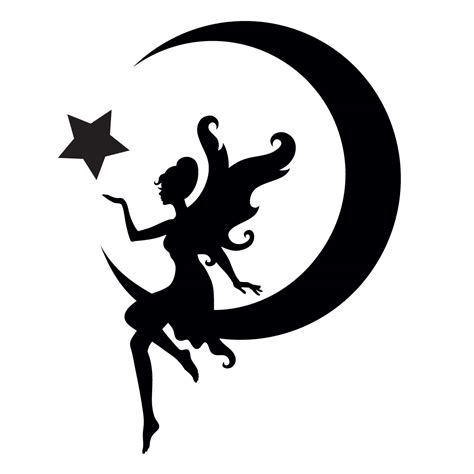 House Design Blog Uk by Glitter Quarter Mark Stencil For Horses Fairy And Moon