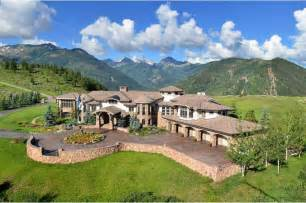 aspen home a 29 5 million dollar mansion in the aspen mountains