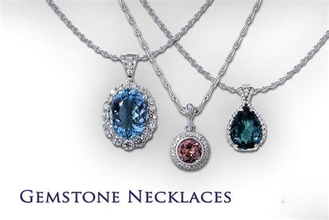 jewelry gemstones gemstone necklaces jewelry designs