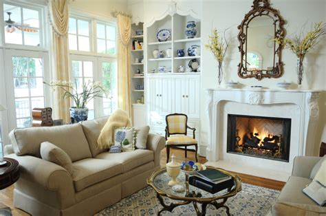 country mirrors living room fireplace decorating using a mirror brick anew