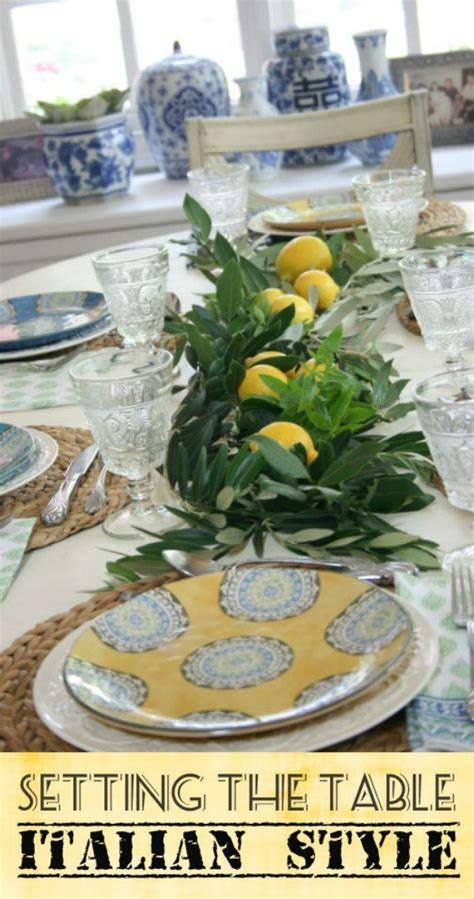 italian inspired decor 17 best images about italian inspired tablescape on