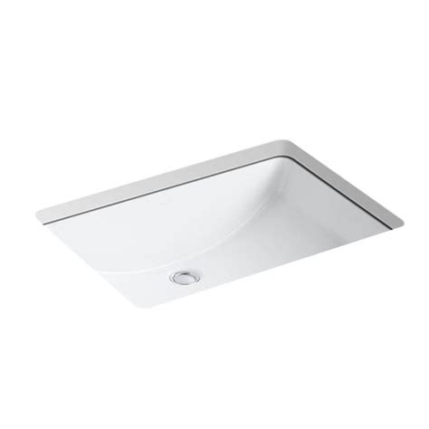 Kohler Lavatory Sink by Kohler K 2215 0 Ladena Undercounter Lavatory Sink White