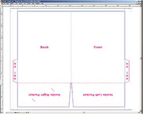 corel draw booklet layout coreldraw brochure design templates free download