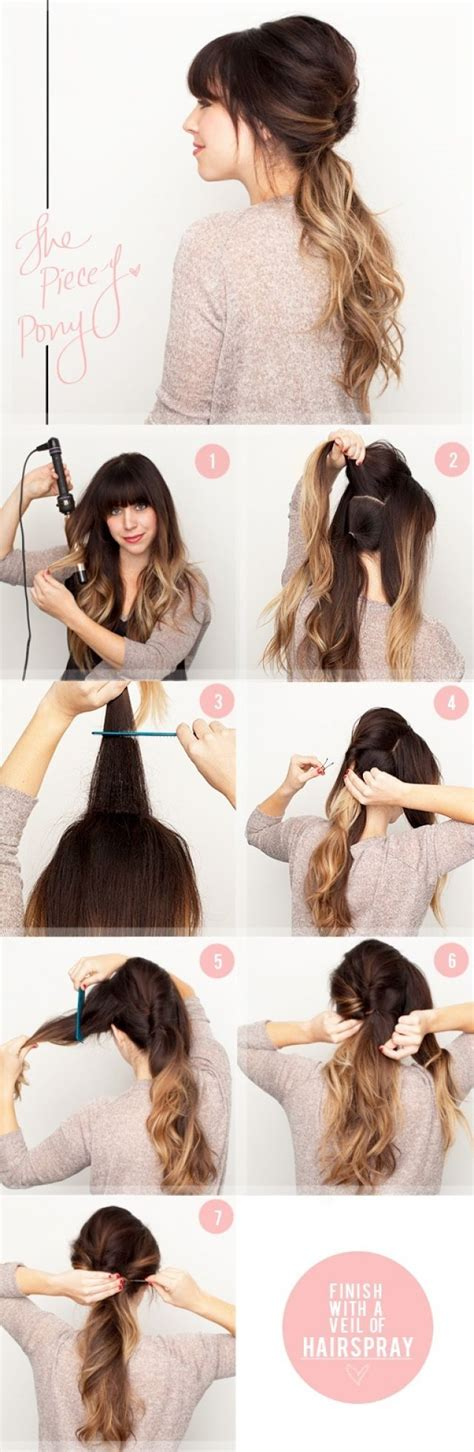 different styles or ways to fix human hair 15 different ways to make cute ponytails ladies hair