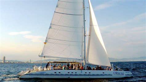 barcelona catamaran boat trips barcelona 2018 barcelona watersports sailing boat tours
