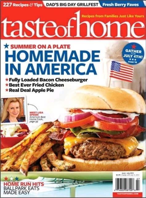 year subscription to taste of home magazine 10 20