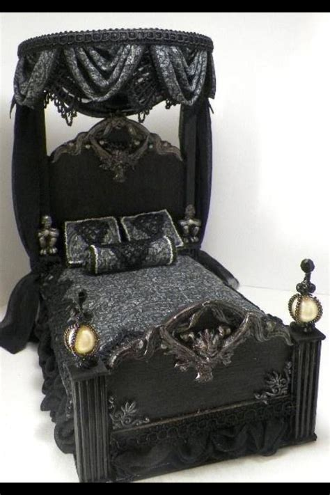 gothic bed gothic bed bedroom ideas pinterest