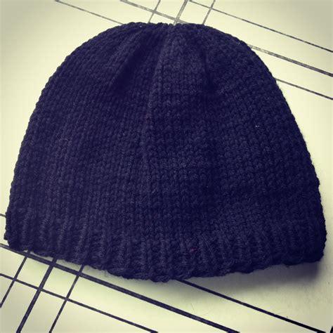 free knitting pattern mens beanie free knitting pattern basic s beanie chronicles of a