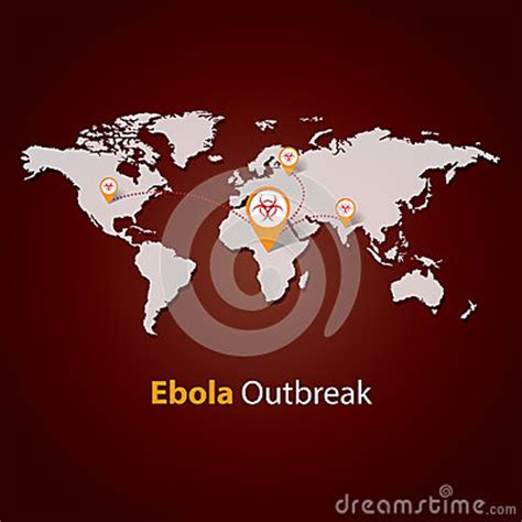 pandemic card template ebola virus outbreak minimalistic template design