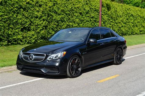 Mercedes E63 For Sale by 2014 Mercedes E63 Amg For Sale 1976743 Hemmings