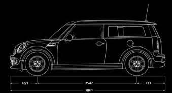 Mini Cooper Length Mini It Mini Cooper D Clubman Informazioni Tecniche Auto