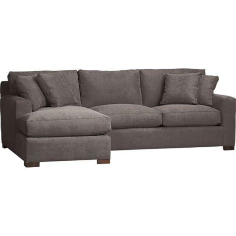 sectional sofa with chaise axis 2 left arm chaise sectional in sectional sofas crate and barrel