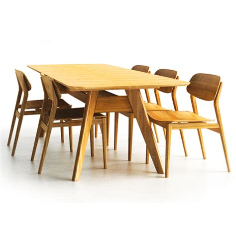 bamboo dining table and chairs dining table bamboo dining table chairs